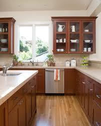 cherry cabinets vogue san francisco contemporary kitchen