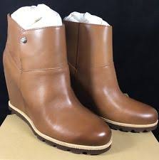 ugg australia s rianne boots ugg australia leather booties solid boots for ebay