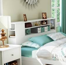 Bed Bookcase Headboard Awesome Bookcase Headboard Design Ideas To Add Some Storage Space
