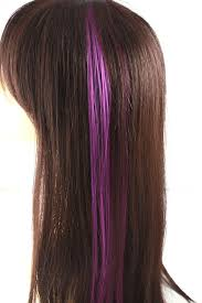 purple hair extensions single clip hair extension purple strands