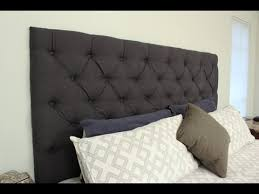 How To Make Headboard How To Make Your Own Tufted Headboard