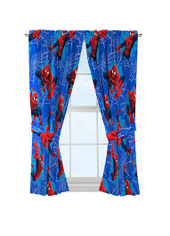 Kids Room Curtains by Kids Room Drapes Spiderman Window Panels Curtains Boys Bedroom