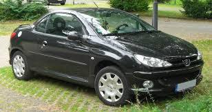 used peugeot 206 cc file peugeot 206 cc facelift rear jpg wikimedia commons