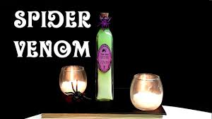 wine bottle halloween spider venom diy potion bottle halloween prop harry potter