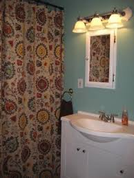 Brown Floral Shower Curtain Brown Fabric Shower Curtain Foter