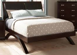 Platform Bed With Mattress Astrid Queen Platform Bed In Espresso 1313 1