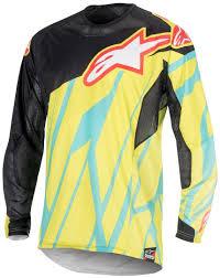 cheap motocross gear alpinestars eli tomac techstar motocross jersey buy cheap fc moto