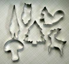 woodland cookie cutter set hey look its my gnome cookie cutter