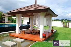 small luxury thai balinese style pool villa near banyan golf course