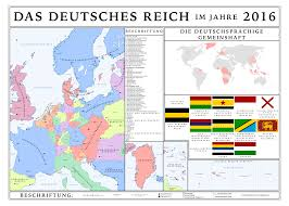 West German Flag Map Of The Greater German Empire By Tiltschmaster On Deviantart