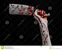 halloween theme background bloody halloween theme bloody hand holding a large bloody kitchen