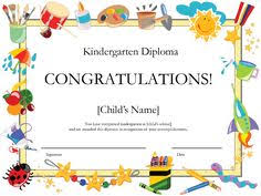 certificates for all ages certificate of recognition t2965