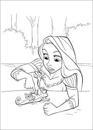 rapunzel disney coloring pages free coloring pages kids