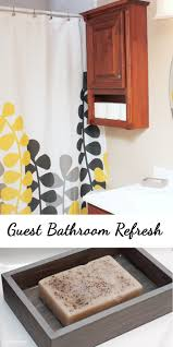 giving my guest bathroom a bathroom refresh makeover third stop