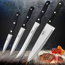 japanese kitchen knives set 4pc myvit stainless steel chef knife set 3cr13 kitchen knife cook