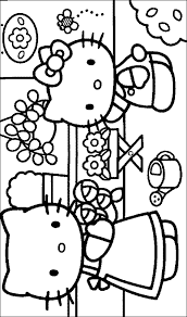 printable kitty coloring pictures