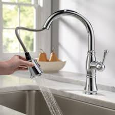touch faucet kitchen delta touch kitchen faucet visionexchange co