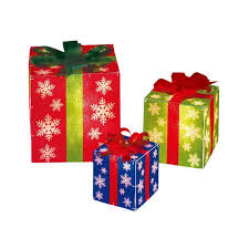 time lighted gift boxes 3pc walmart