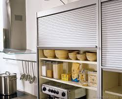 Kitchen Cabinet Garage Door Hardware Bar Cabinet - Kitchen cabinet roller doors