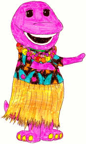 barney in hawiaiian by bestbarneyfan on deviantart