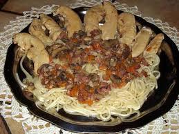 cuisiner des aiguillettes de poulet recette d aiguillettes de poulet et sa sauce aux petits légumes