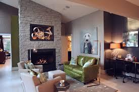grandiose green sofa also canvas portray wall living decors also