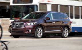 infiniti ex vs lexus rx 2013 infiniti jx35 crossover test u2013 review u2013 car and driver