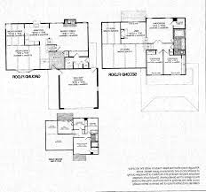 bi level floor plans home design 3972 ideas 4 bedroom one story house plans in open
