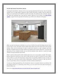 china kitchen cabinets home decoration ideas