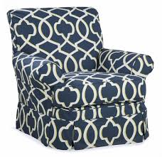 Glider Recliner With Ottoman Furniture Baby Glider Rocker And Ottoman Navy Blue Glider And