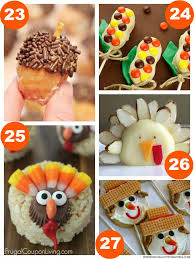 31 thanksgiving food craft ideas kid foods rice krispie