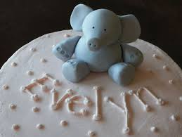 elephant baby shower cakes topper party xyz
