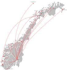 Krs Umy Air Shuttles Destinasjoner