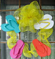 how to make a flip flop wreath 14 diy tutorials guide patterns