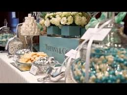 Tiffany Blue Candy Buffet by Tiffany And Co Candy Buffet Youtube
