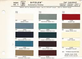 1967 chevrolet impala butternut yellow code y car paint color kit