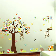 stickers pas cher pour chambre arbre stickers chambre bebe singes stickers pour pare ban