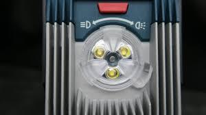 420 lumen led work light bosch work light 18v and 420 lumens tools in acttion