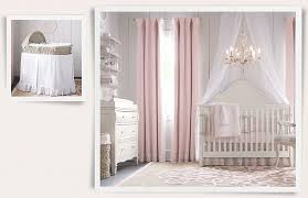 White And Pink Nursery Curtains I Like The Chandelier For Baby Room Also The Curtains The