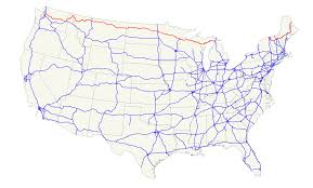 Map Of Northeast Us U S Route 2 Wikipedia