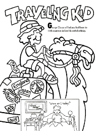 C Is For Coloring Books For Travel Passports And Pushchairs Books For Coloring