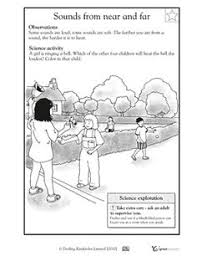 how sound travels science pinterest travel worksheets and