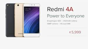 Redmi 4a Xiaomi Redmi 4a To Go On Exceptional Tomorrow