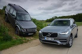 land rover discovery expedition volvo xc90 vs land rover discovery first uk test auto express