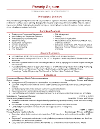 Quality Assurance Sample Resume by Download Procurement Engineer Sample Resume Haadyaooverbayresort Com