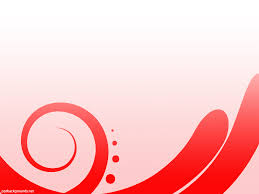 free red abstract simple design backgrounds for powerpoint
