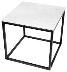 top 20 modern coffee tables temahome prairie 20 x20 end table with marble top view in