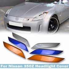 nissan 350z for sale nz painted for 350z z33 fairlady z 2d coupe eyelid eyebrows headlight