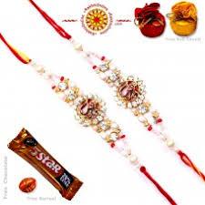 buy rakhi online send two rakhi set online buy online rakhi for two