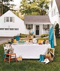 Organizing A Garage Sale - 10 items to sell for a profitable garage sale 101 days of
